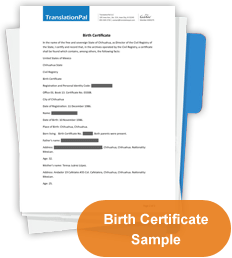 Japanese to english birth certificate translation translationpal birth certificate thumbnail yadclub Gallery